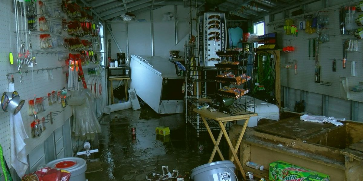 Waveland tackle and bait shop heavily damaged from 'one heck of a storm'