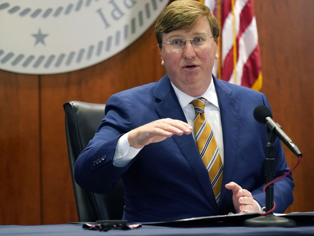 Gov. Tate Reeves announces over 100,000 Mississippians vaccinated