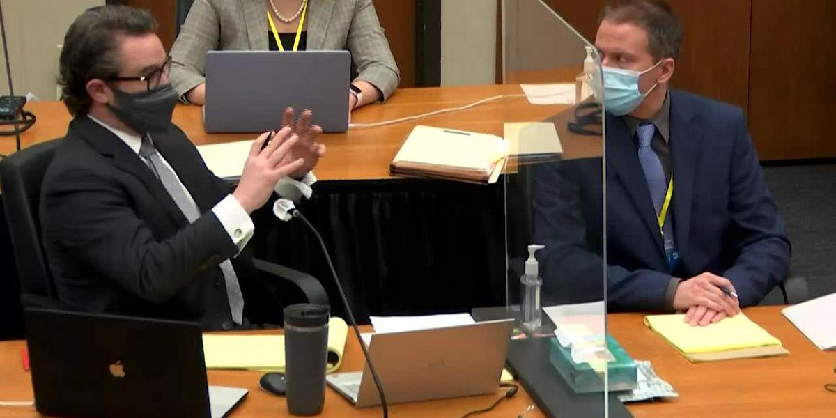 LIVE: Chauvin won't testify at murder trial in Floyd's death