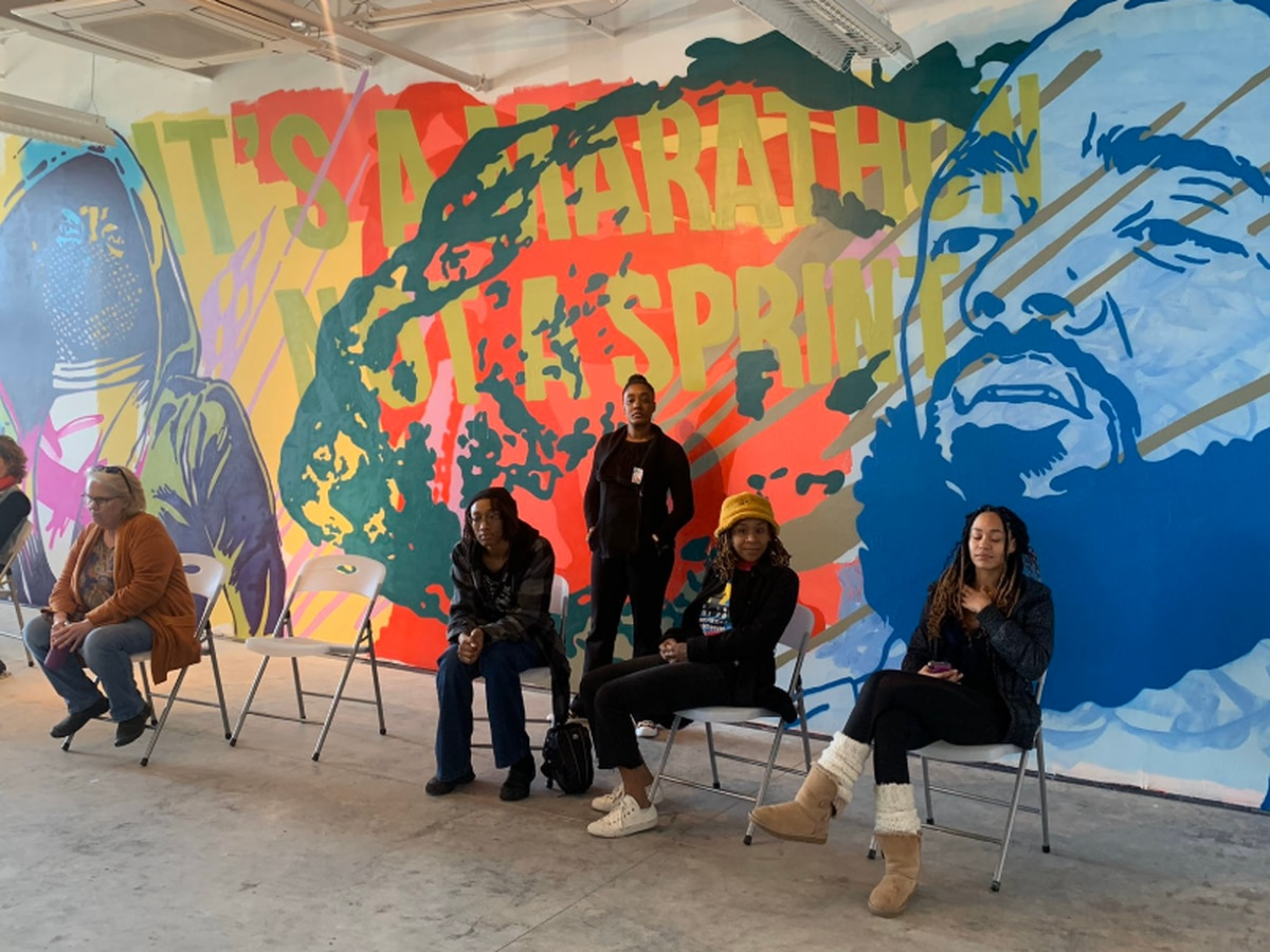 Art of Activism event highlights MLK's vision through art