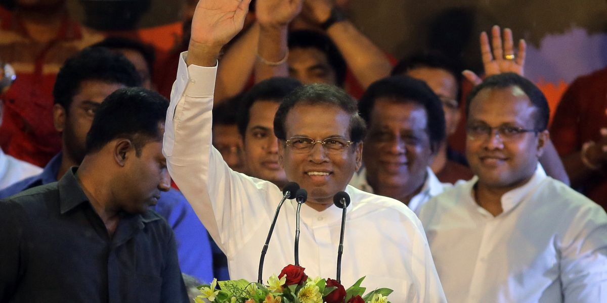 Sri Lanka president dissolves Parliament, calls for election