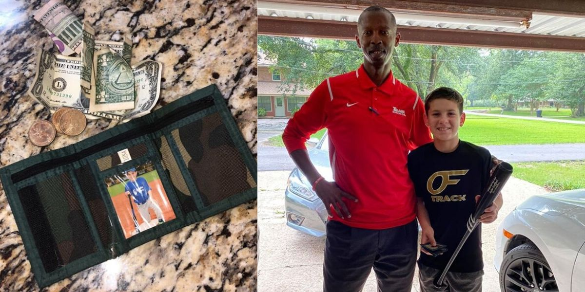 Wallet returned 6 years after being lost becomes message of hope