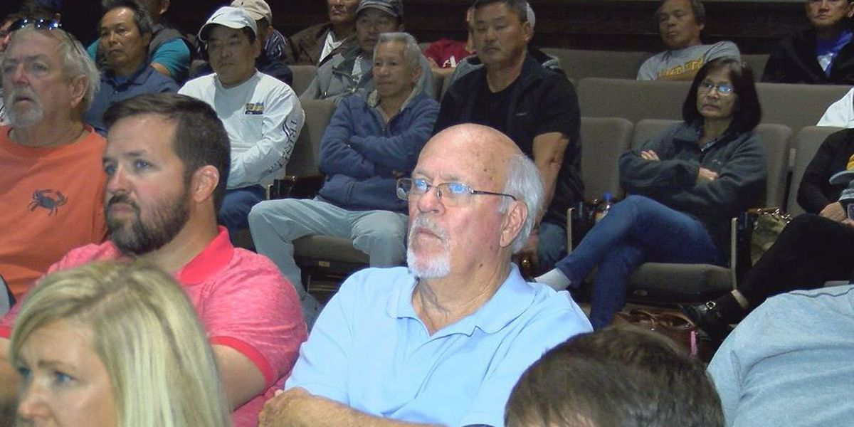 Public meeting on shrimping regulation gets little feedback
