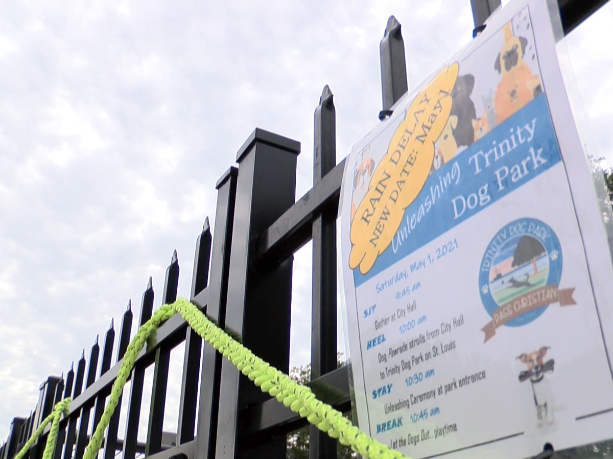 Pass Christian cuts the ribbon on brand new dog park
