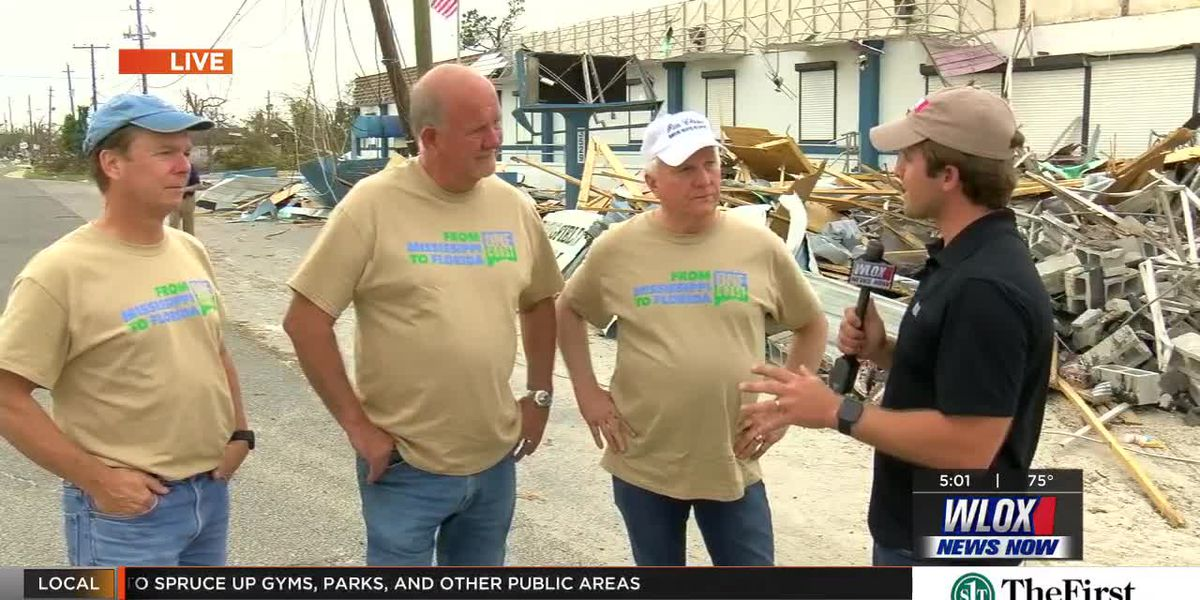 Several coast mayors talk about One Coast Hurricane Relief effort
