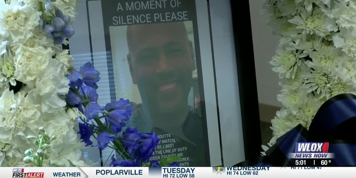 LIVE REPORT: Funeral procession for Lt. Boutte to stretch from Bay St. Louis to Biloxi