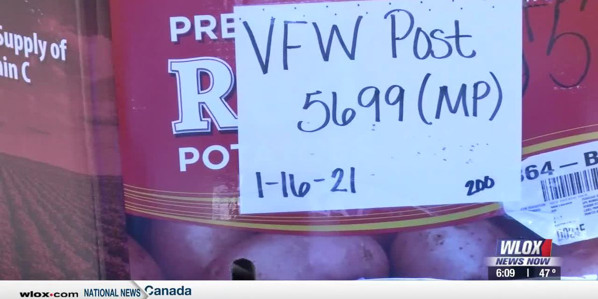 Veterans of Foreign Wars Post 5699 held successful food drive