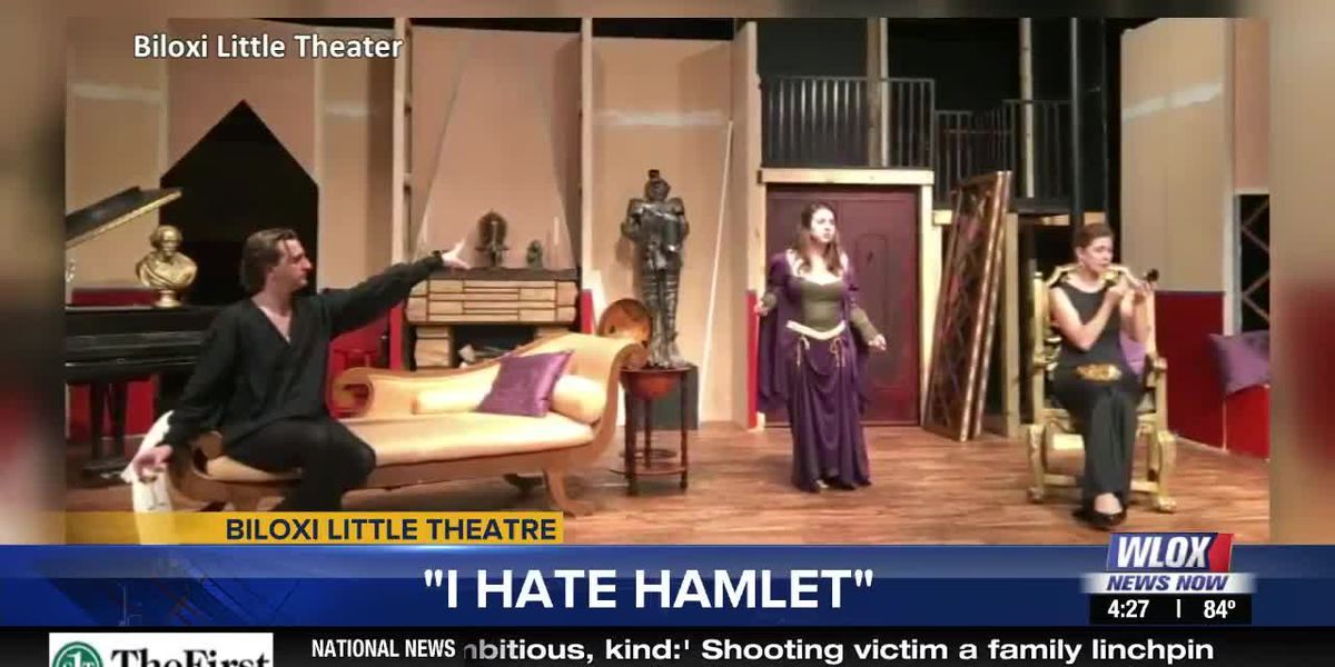 "Showing Oct. 18-27th: ""I Hate Hamlet"" by Biloxi Little Theatre"