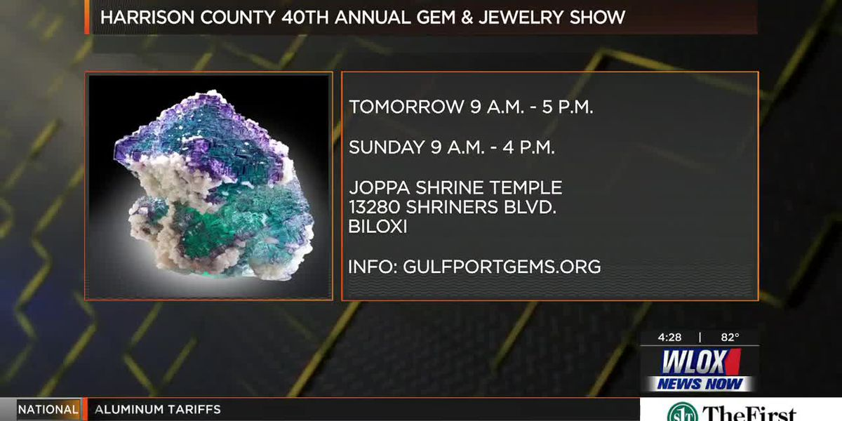 Happening May 18-19: Harrison County Gem & Jewelry Show