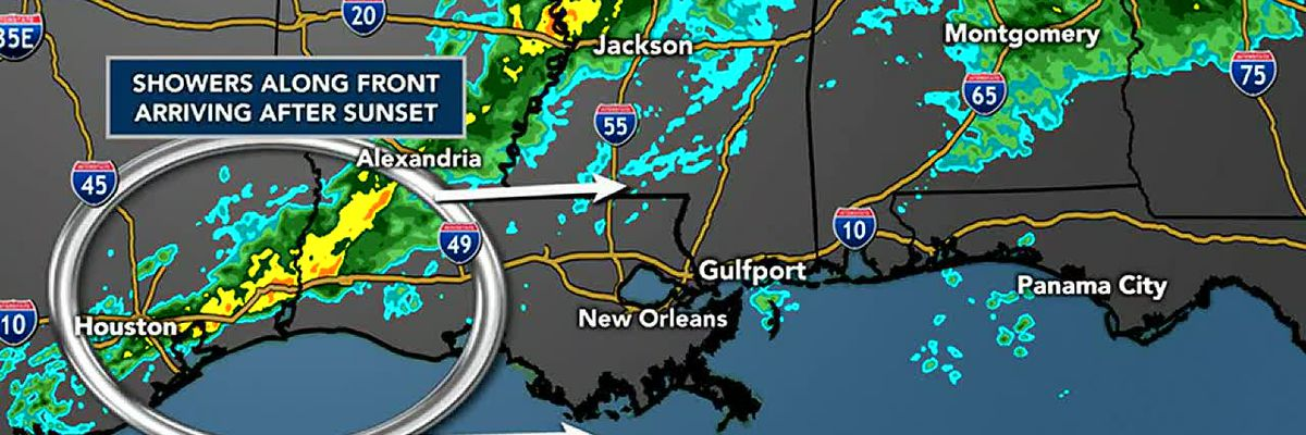 FORECAST VIDEO: 2-24-20 Line of showers may arrive tonight