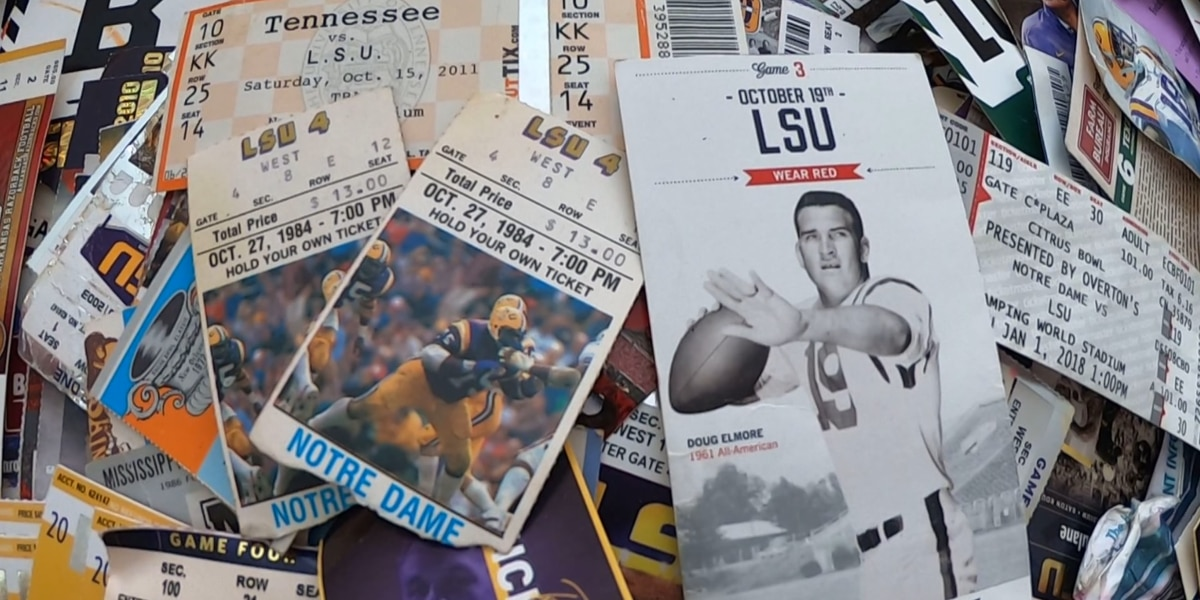 Longtime LSU fan hasn't missed a game in more than 50 years