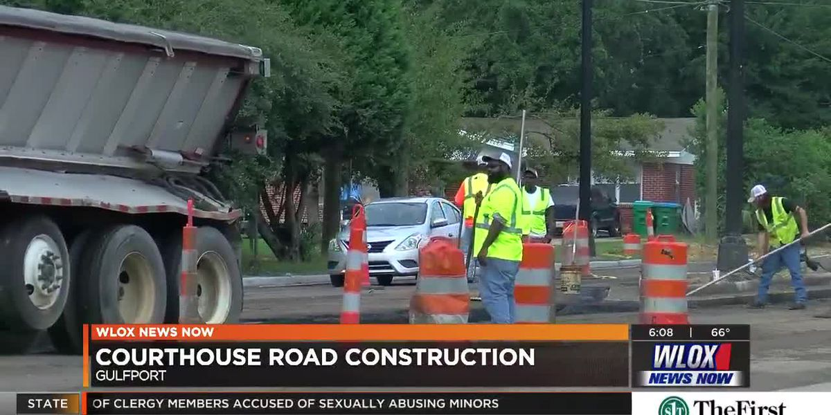 Courthouse Road construction project deadline approaches