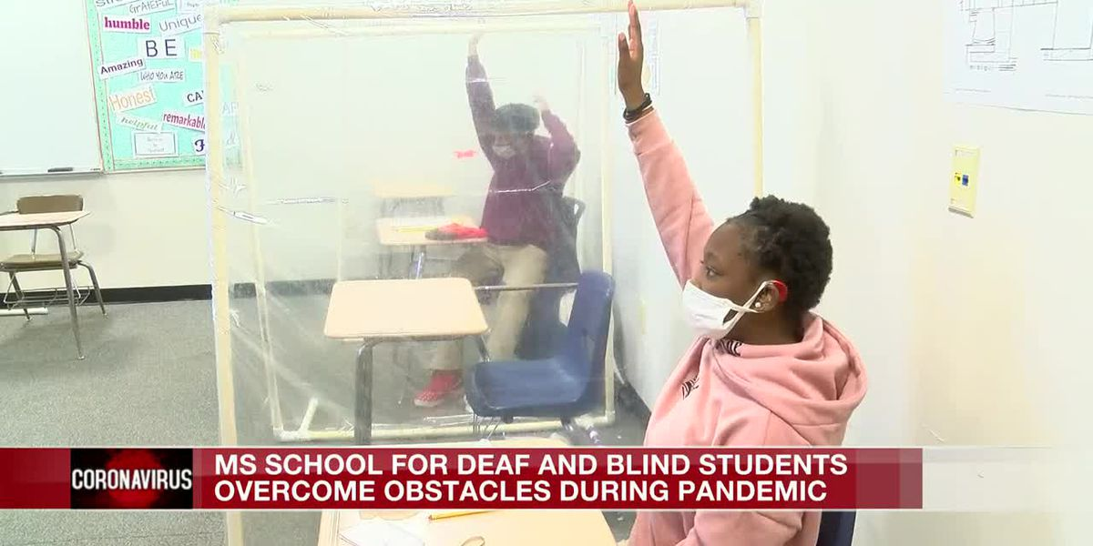 School for Deaf and Blind overcoming obstacles during pandemic
