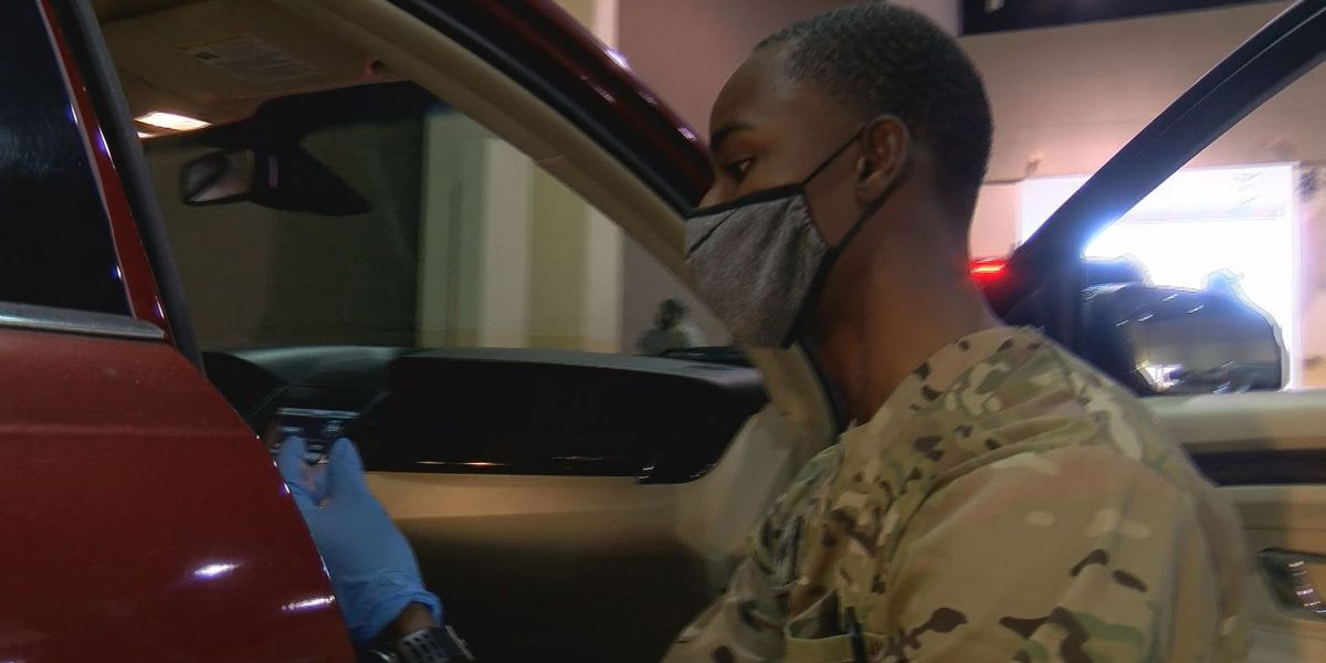 National Guard volunteers suit up to serve during global pandemic
