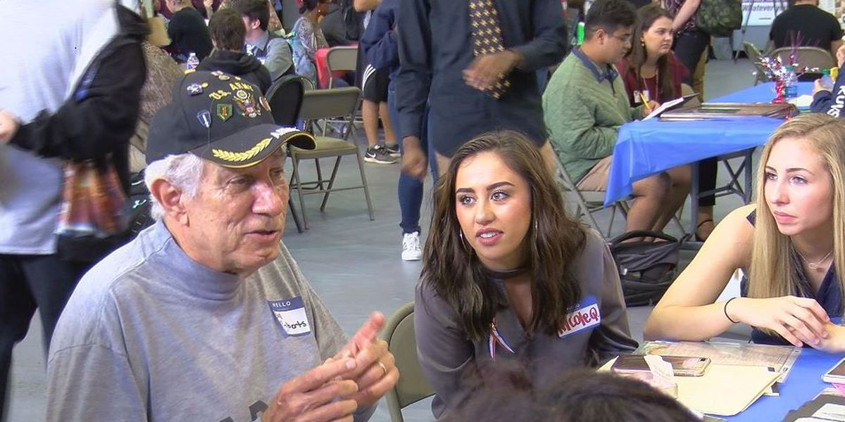 Picayune High has 10th annual veterans reception