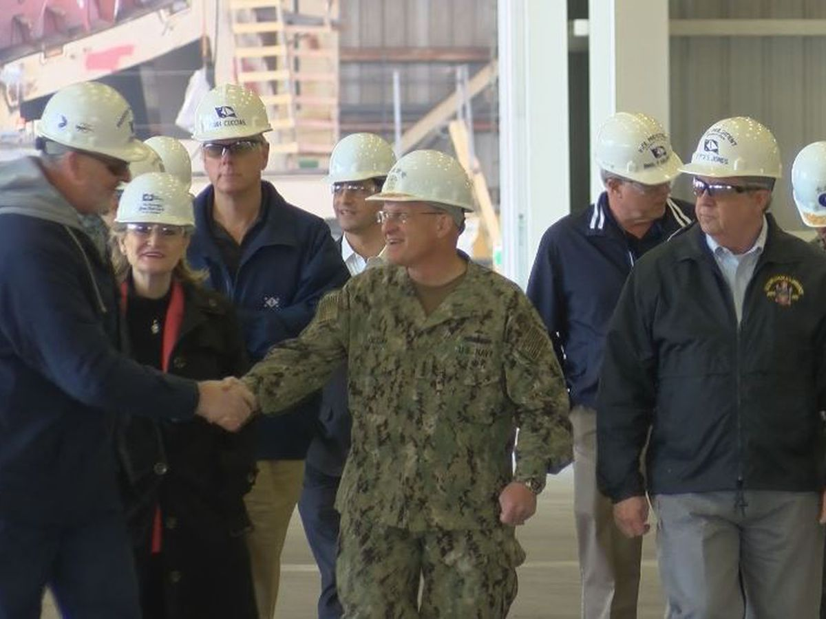 Chief of Naval Operations says connection with Ingalls is solid