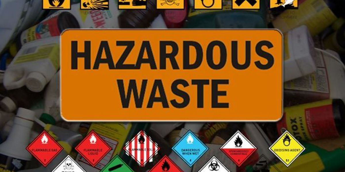 Household hazardous waste collection event in the Kiln