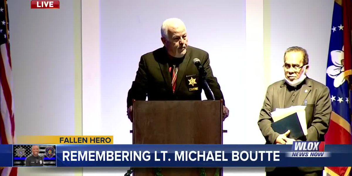 Hancock County Sheriff Ricky Adam remembers Lt. Mike Boutte