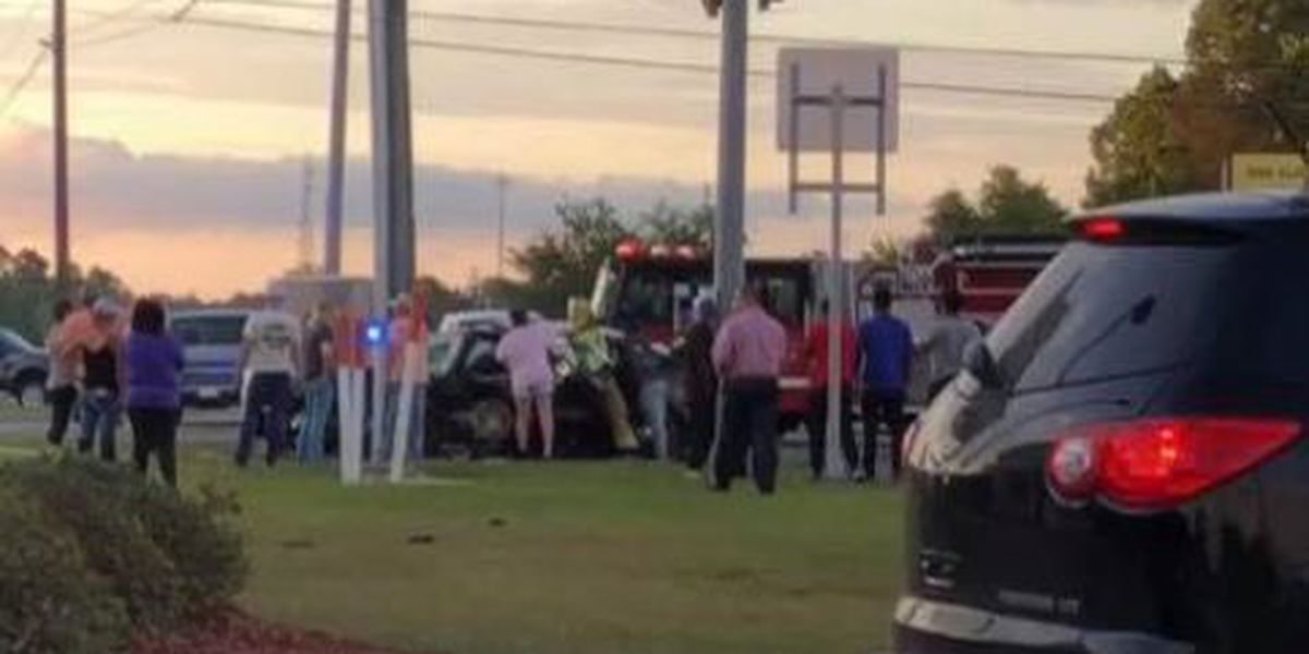Harrison County sheriff deputy involved in car accident on Hwy 49