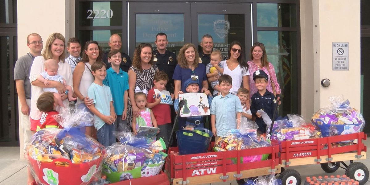 Group of Gulfport moms show appreciation to police