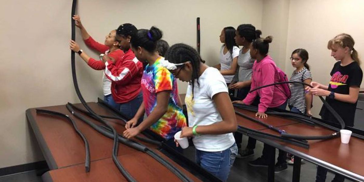 Young women explore engineering careers through BEST summer camp