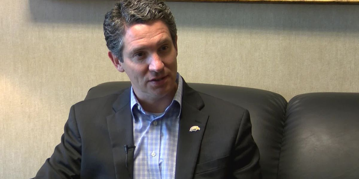 Sit-down with USM athletic director Jeremy McClain
