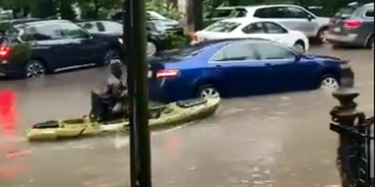 VIDEO: Flooding from around New Orleans on July 10
