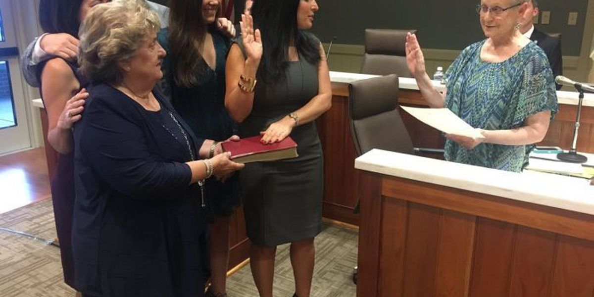 Trapani sworn in as newest Commissioner of Marine Resources