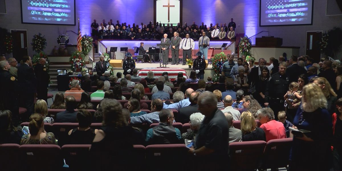 Slain police officer remembered in Brookhaven