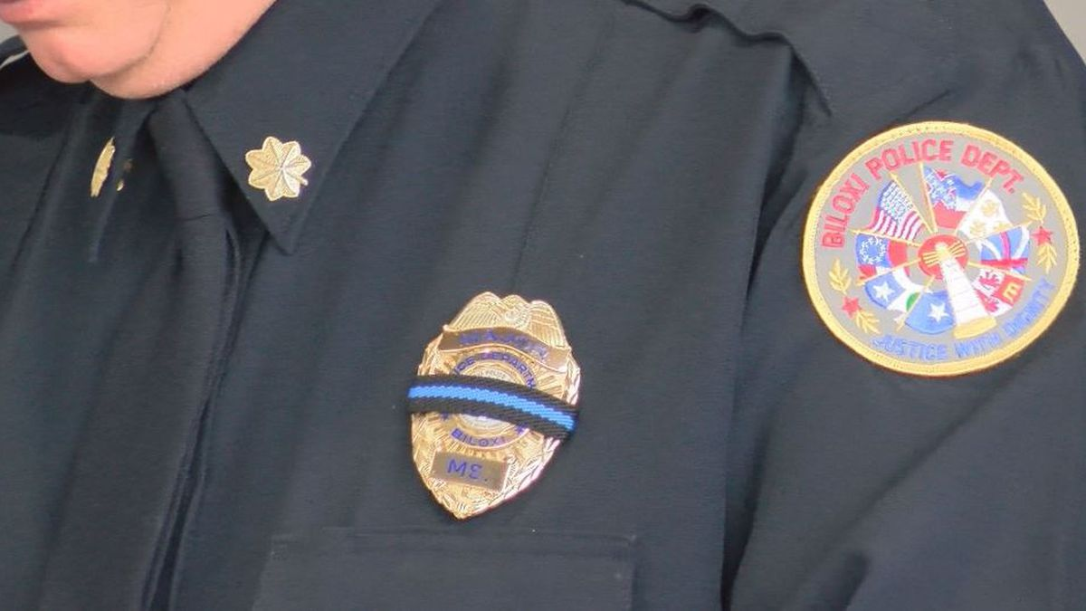 Biloxi Police hold memorial service to honor fallen officers