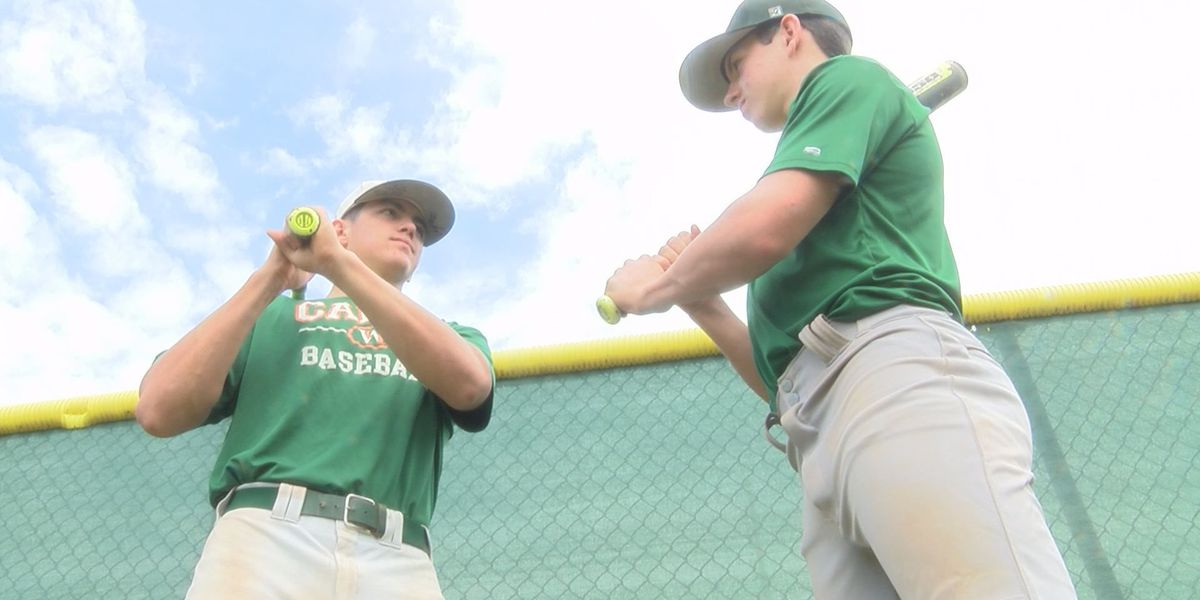 Parker Brothers of West Harrison both hit home runs in the same game