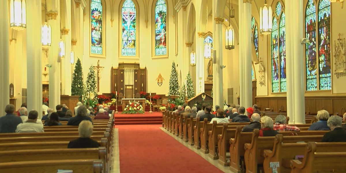 Christmas Day mass brings people together, moves some to tears