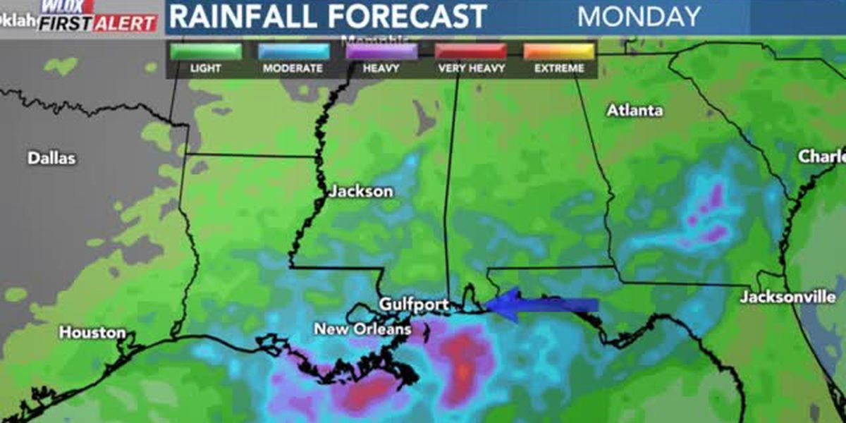 FORECAST VIDEO: 8-19-19 Wet again with showers and thunderstorms likely