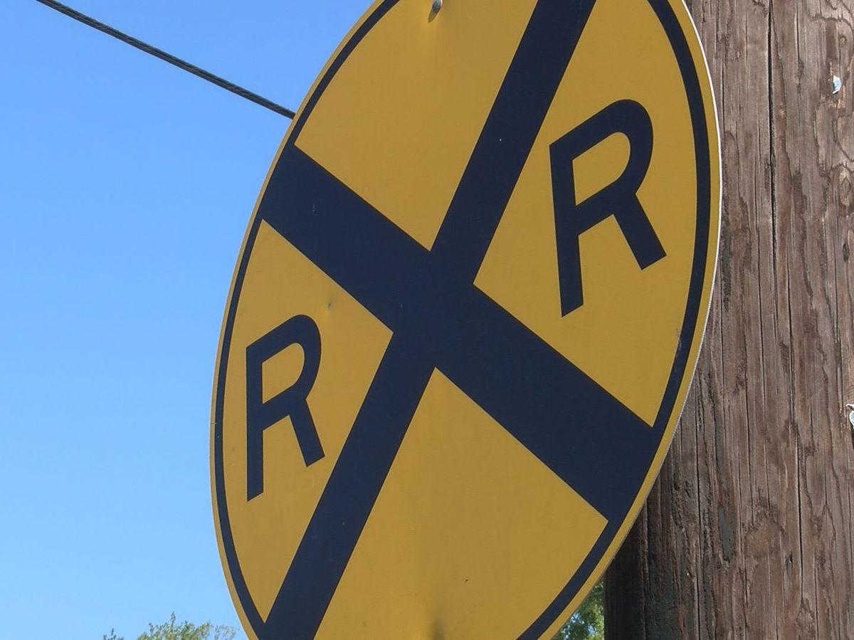 Work continues at several rail crossings in Ocean Springs