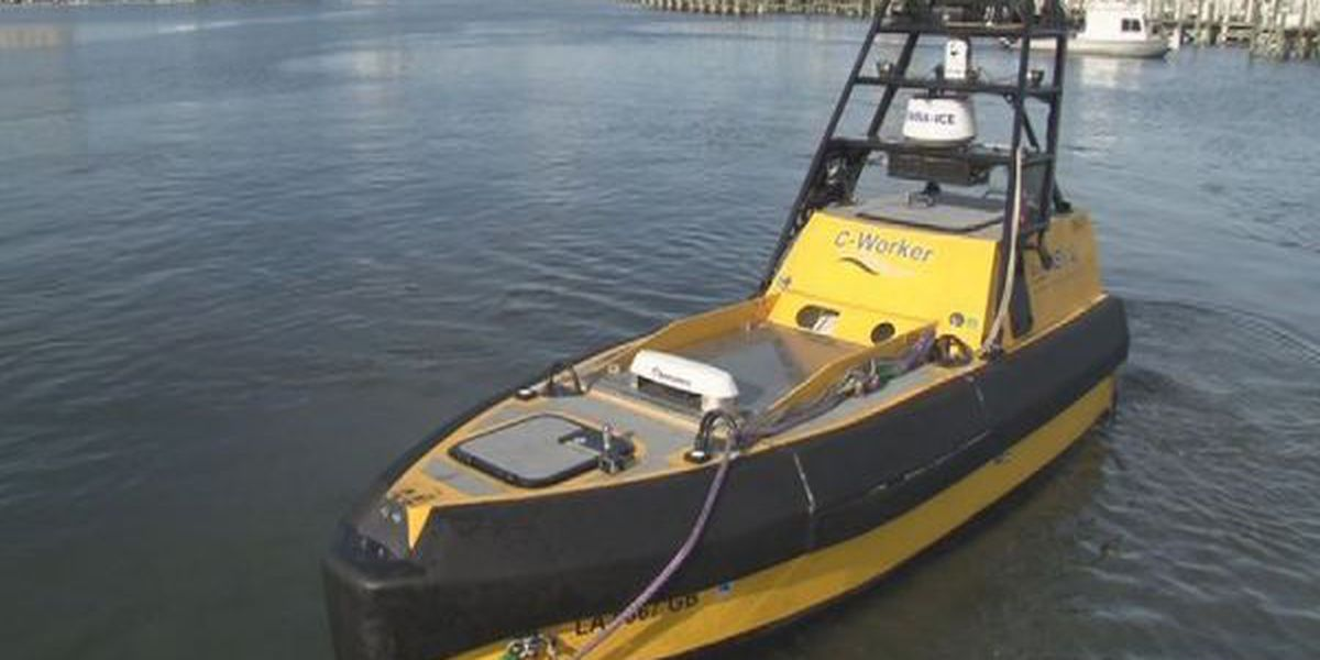 Gov. Bryant impressed with unmanned maritime system demonstration