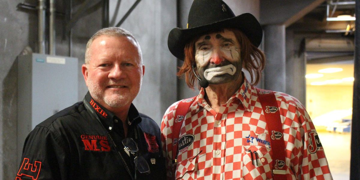 Legendary Rodeo Clown Lecile Harris dies following the 55th Dixie National Rodeo