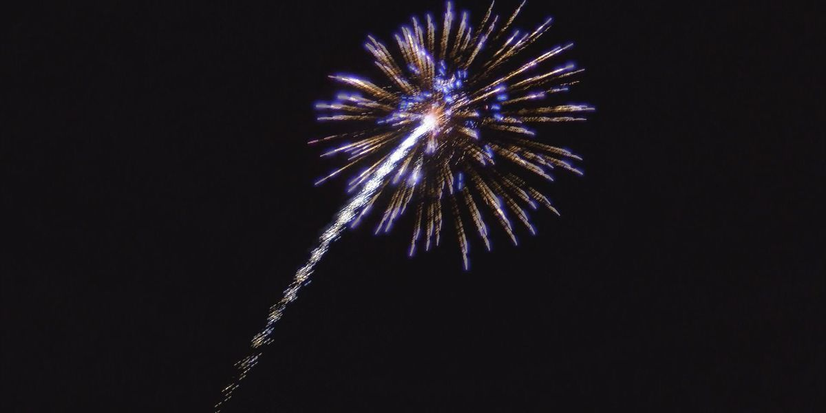 Shooting fireworks on New Year's? You might be breaking the law.