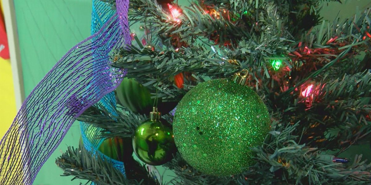 Oak Park Elementary brightened with Christmas decorations