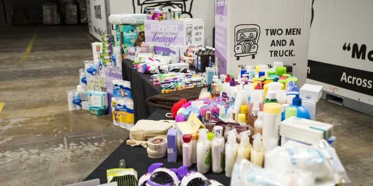 'Movers for Moms' collecting donations for women in local shelter