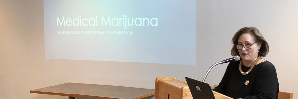 Medical marijuana opponent speaks out to coast republicans
