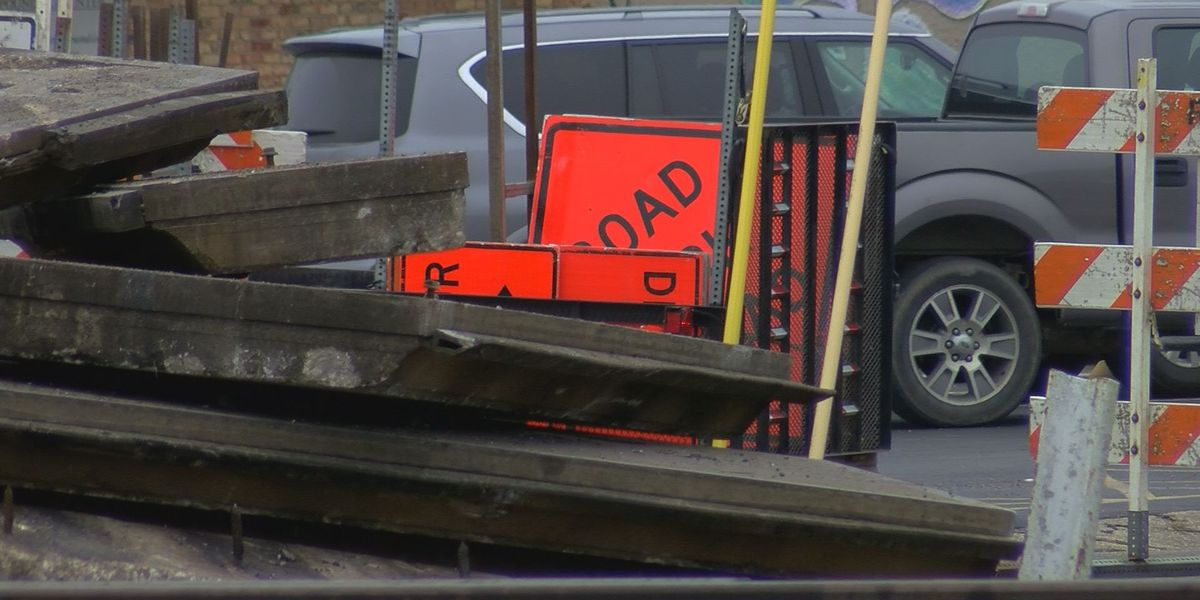 Railroad work causing traffic issues throughout Picayune