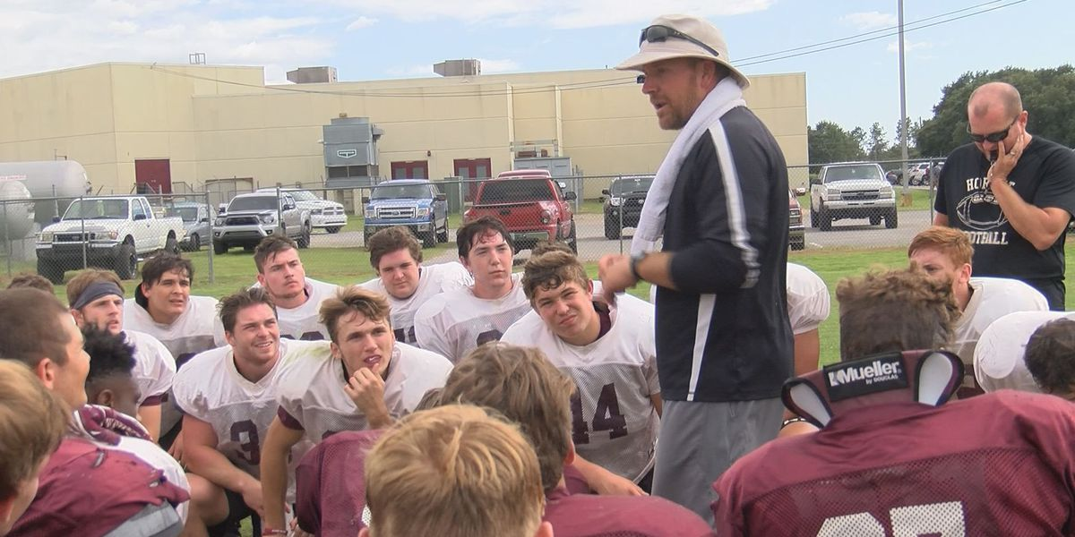 East Central head coach Seth Smith has inspired his undefeated Hornets team