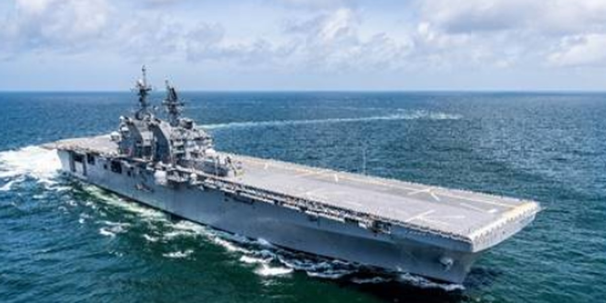 Ingalls awarded additional $107M for new amphibious assault ship