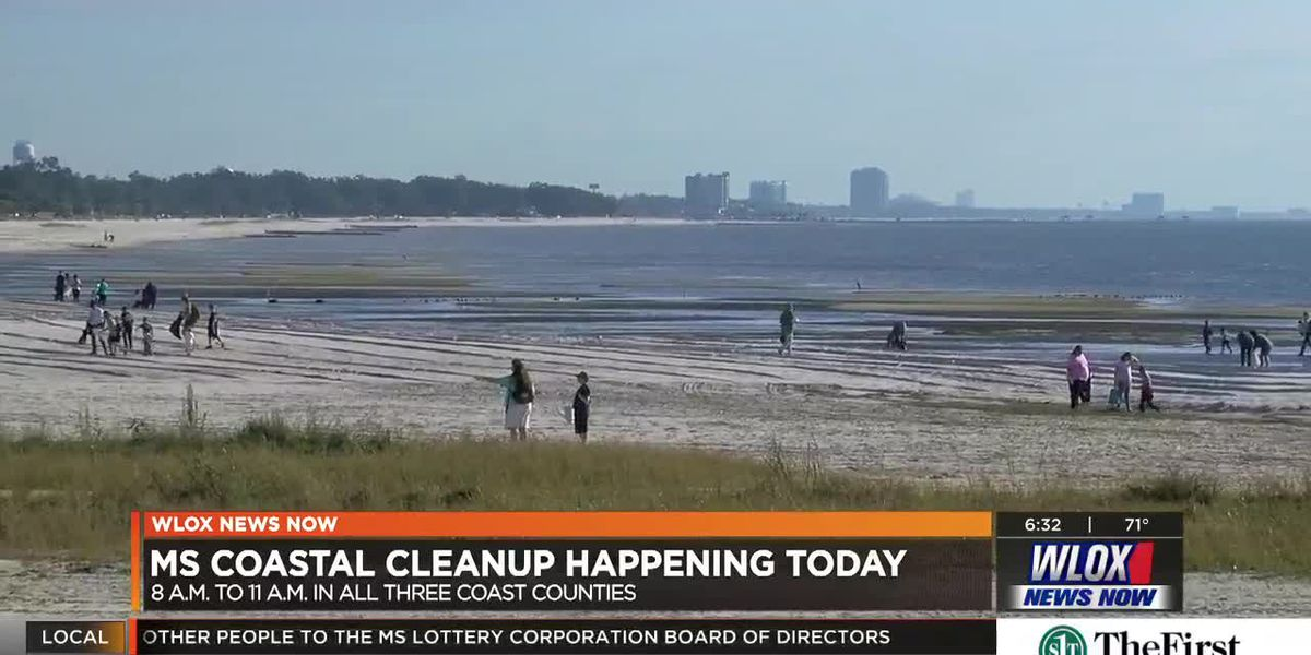 Coastal Cleanup focused on 200 miles of Mississippi coastline, waterways