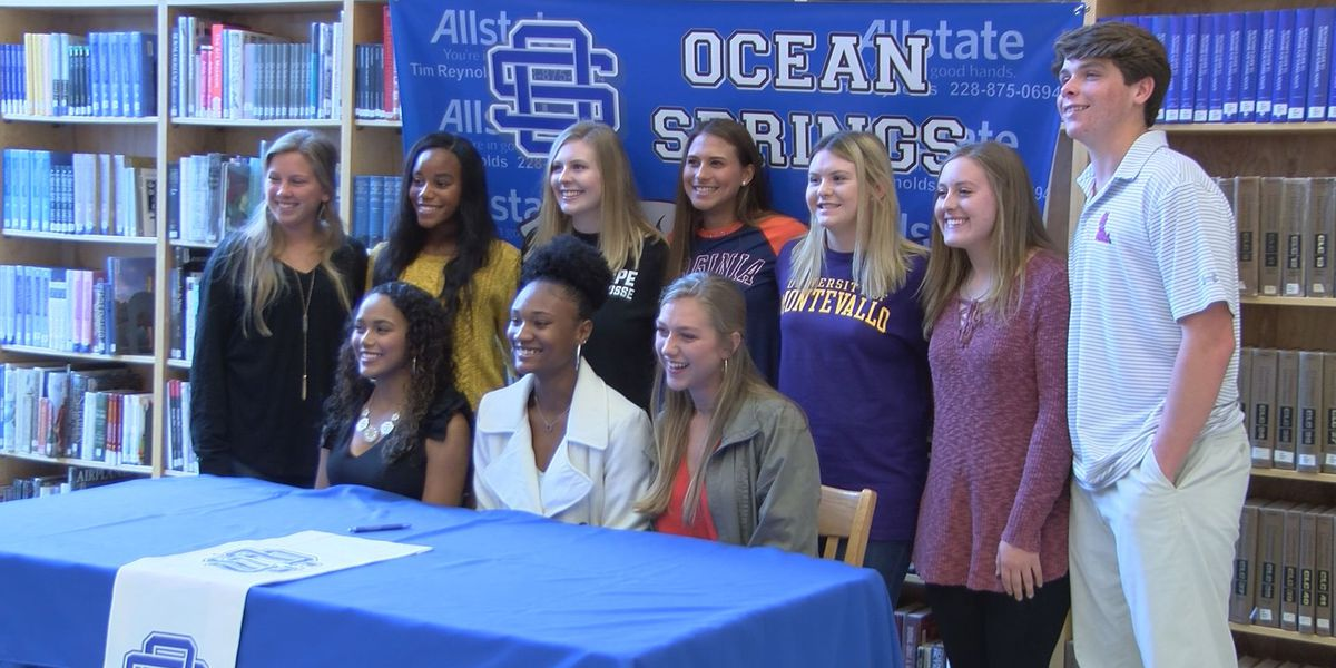 Dozens of Coast high school, junior college athletes sign on the dotted line