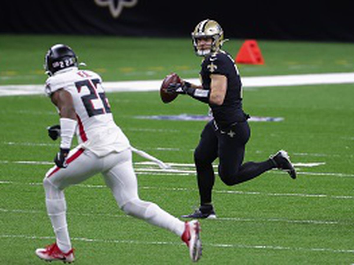 """""""Taysom Time"""" at QB debuts with a win over the Falcons"""