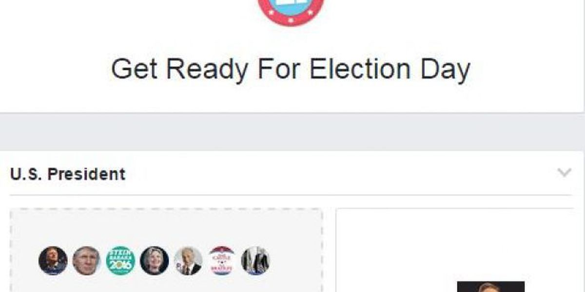 New Facebook tool gets you prepped for Election Day