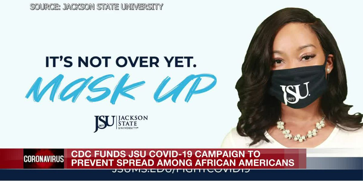 CDC funds JSU campaign to reduce number of African Americans contracting COVID-19