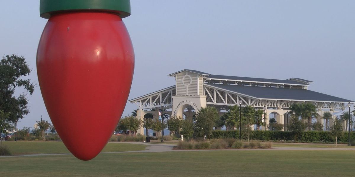 Light display in Gulfport\'s Jones Park expected to be largest in ...
