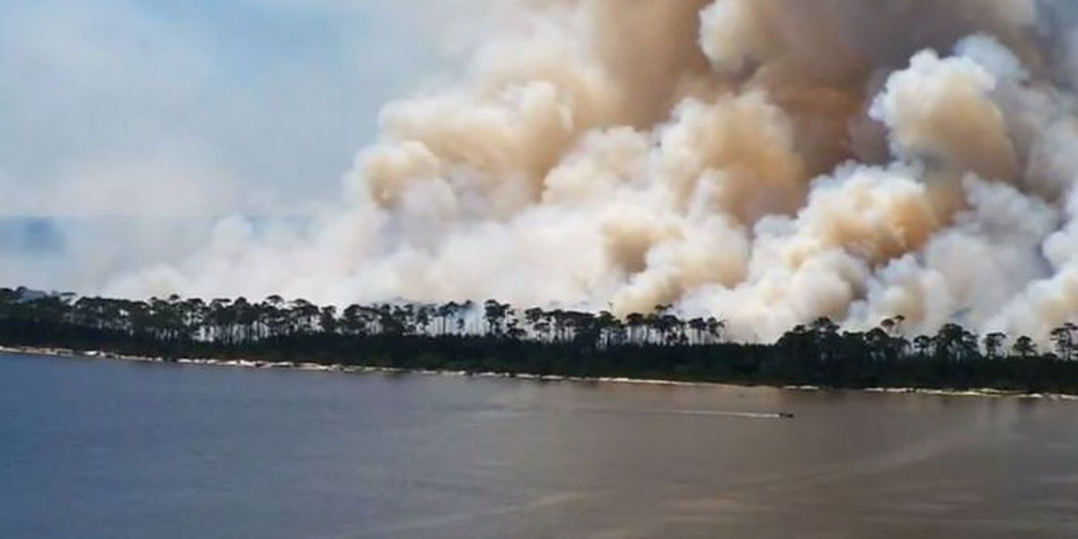 Prescribed burn now underway on Deer Island